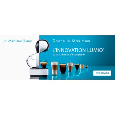 Machine Dolce Gusto lumio