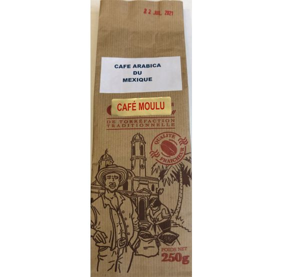 Café Moulu Mexique 250gr