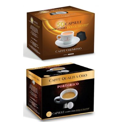 Pack éco 400 Capsules Compatible Dolce Gusto Cremoso / Arabica