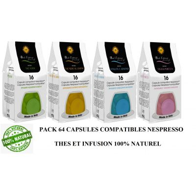 PACK THES ET INFUSION 98 CAPSULES