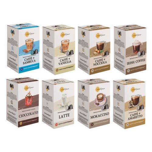 PACK CAFES AROMATISEES 96 CAPSULES