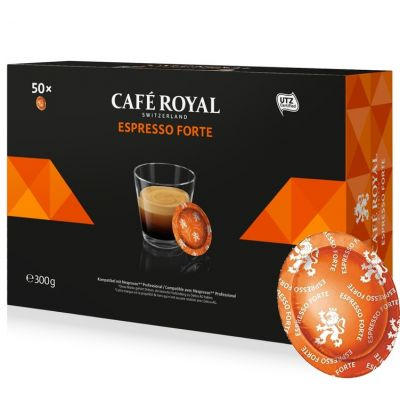Jupiter Capsule Café Compatible Nespresso Fort and Corsé Coffee Machine x25