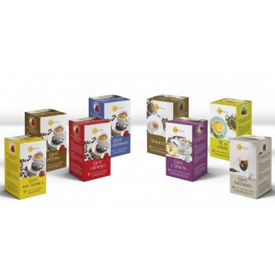 PACK THES ET INFUSION 64 CAPSULES
