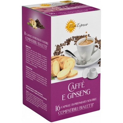 Bialetti Ginseng 16 Capsules