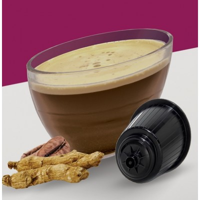 Compatible Dolce Gusto Ginseng : boite de 16