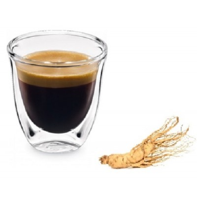 GINSENG : 25 Capsules Café vanille Compatible Nespresso